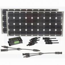 Powertech 160W Fixed 12V Solar Panel Kit